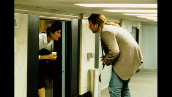 """For """"Being John Malkovitch,"""" Ebert suggested that the """"movie has ideas enough for half a dozen films, but (Director Spike) Jonze and his cast handle them so surely that we never feel hard-pressed; we"""