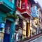 colorful cities Balat Istanbul