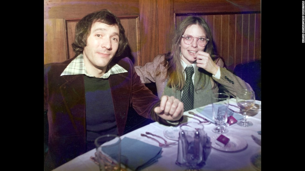 "American actress and director Diane Keaton, pictured here in 1980, made it cool to wear ties and fedoras in the days of disco and punk. Woody Allen is said to have <a href=""http://www.cbsnews.com/8301-18559_162-600975.html"" target=""_blank"">based his eccentric protagonist</a> ""Annie Hall"" on her personality (and their relationship), including her affinity for men's vintage clothes."