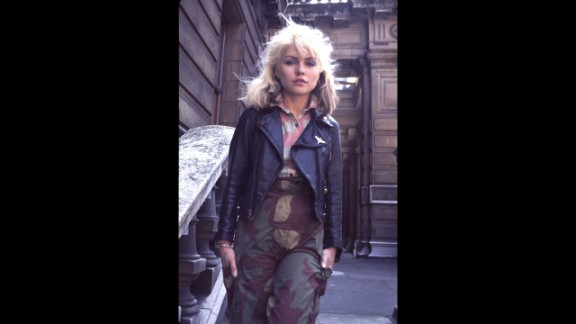 Through her bold sartorial stylings, Deborah Harry, the lead singer of Blondie, showed that tomboys can be sexy, too. Harry wasn