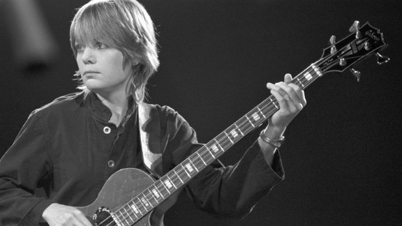 """The bassist and founding member of the Talking Heads might not seem an obvious choice, but """"Tomboy Style"""" blogger and author Lizzie Garrett Mettler says she has a special place in her heart for women who actually play instruments in the male-dominated field of rock"""
