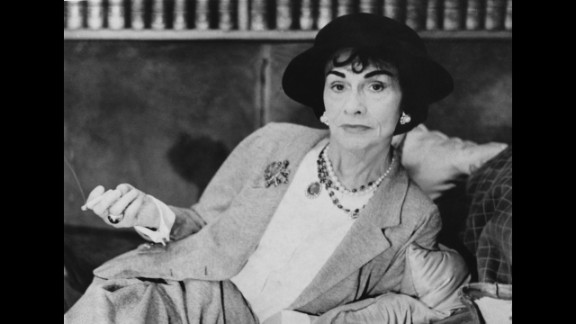 While French fashion designer Coco Chanel