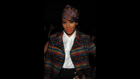 Solange Knowles is known for DJing parties of the rich and famous, modeling, releasing two albums and writing songs for her sister, Beyonce. She has also earned considerable attention for mixing vintage and high-fashion, bold prints and colors.