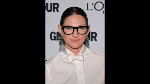 Jenna Lyons is credited with giving tomboy style mass appeal as president of J. Crew and through her own style choices. Whether she