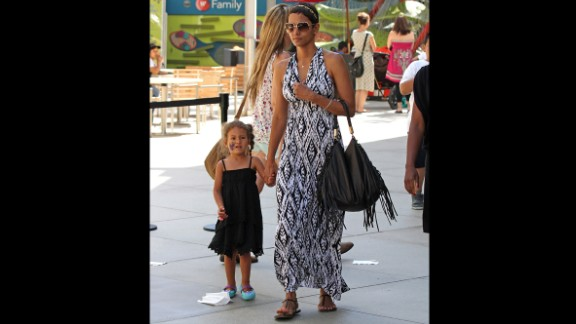 Halle Berry gave birth to her daughter, Nahla, in March 2008. Nahla