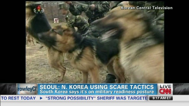 North Korean saber-rattling