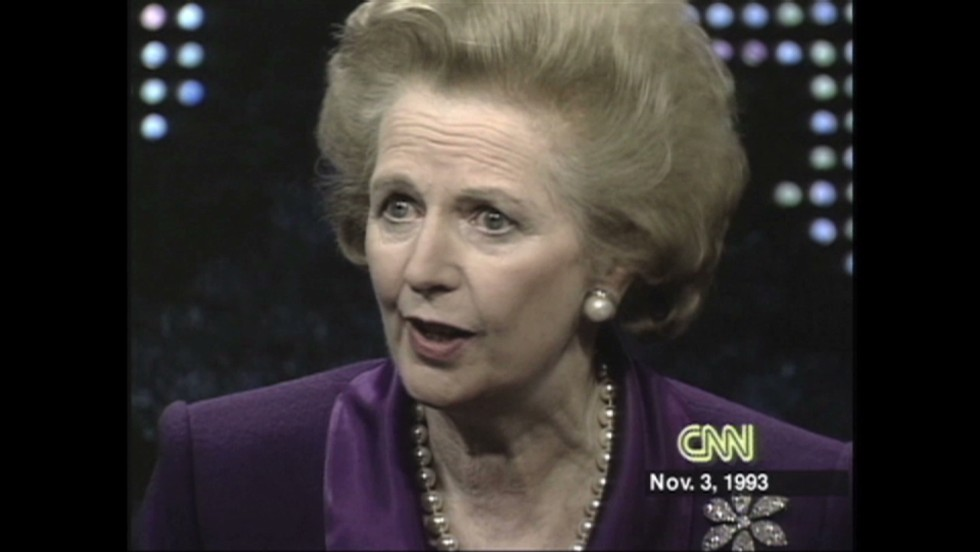 margaret thatcher power and personality