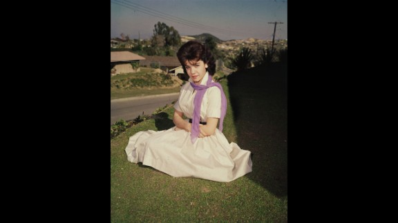 """Annette Funicello, here in the mid-1950s, became famous as one of the original Mouseketeers on """"The Mickey Mouse Club."""" Funicello, 70, died Monday, April 8, at a California hospital of complications from multiple sclerosis, the Walt Disney Co. said."""