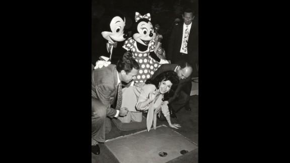 Funicello is at the 1992 Disney Legends Awards at Walt Disney Studios in Burbank, California.