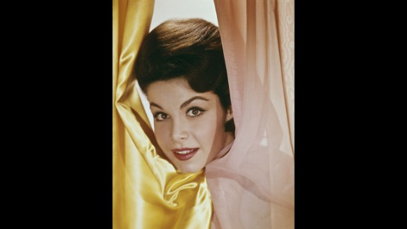 """The actress, here in 1960, also appeared in several """"beach party"""" movies."""