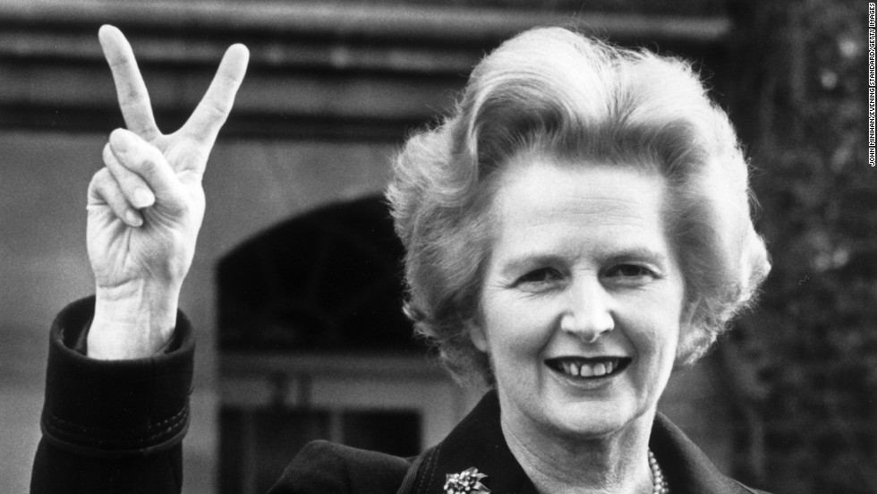 Margaret Thatcher loved and loathed - CNN Video