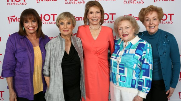 "The ladies of ""The Mary Tyler Moore Show"" will appear together again on a September episode of TV Land's ""Hot in Cleveland."" Here's a look at what the stars of the beloved CBS series are up to now, more than three decades after the show went off the air:"