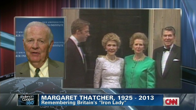 Nancy Reagan: Thatcher had a soft side