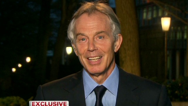 Blair on Thatcher: 'A towering figure'