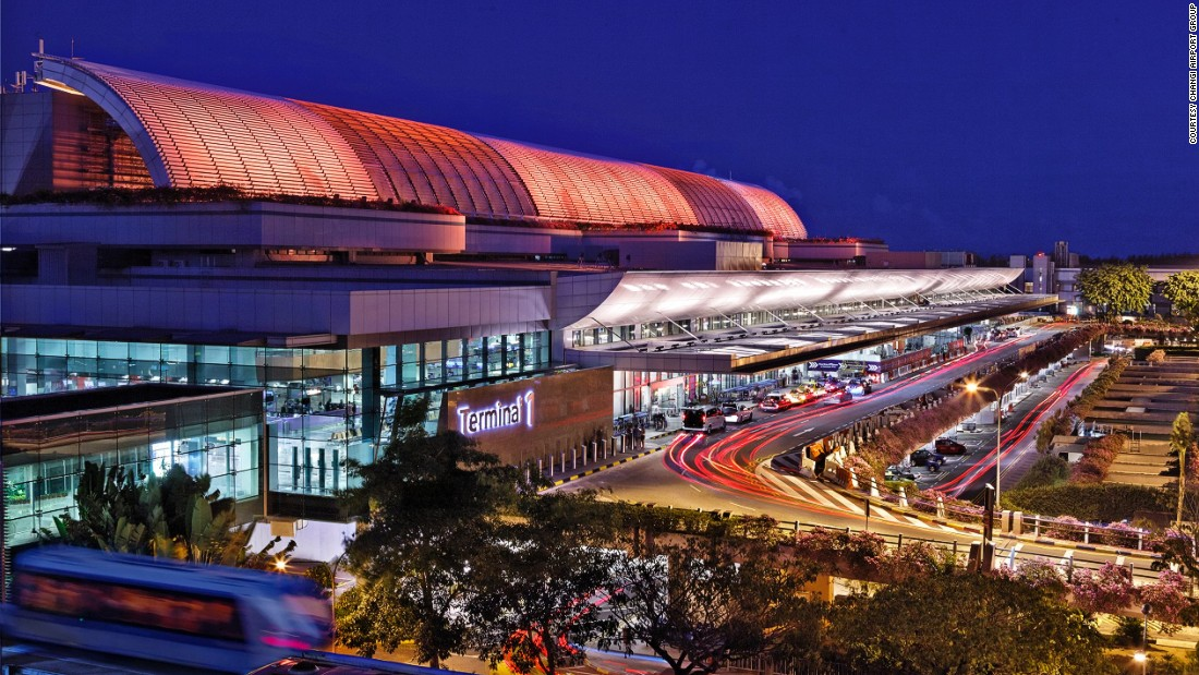 "Singapore Changi Airport has retained the SkyTrax World's Best Airport title for the fourth consecutive year. Passenger facilities include <a href=""http://edition.cnn.com/2016/02/02/aviation/airport-movie-cinemas-portland-pdx/index.html"">two 24-hour movie theaters</a> screening the latest blockbusters for free, a rooftop swimming pool and a butterfly garden."