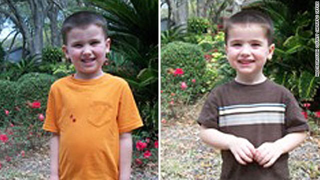 An Amber Alert has been issued for Cole Hakken, left, and Chase Hakken, right.