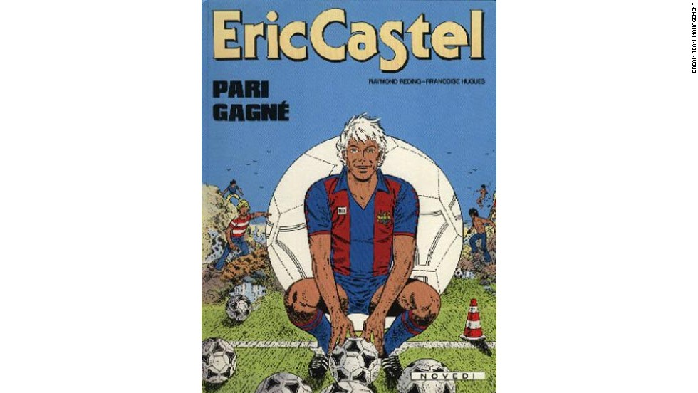 Castel was not the first footballing hero that Reding, who had always had a keen interest in sports, created. In 1963 he came up with the idea for Vincent Larcher, a centre forward, who played for AC Milan.