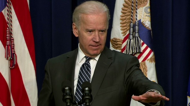 Biden: Gun control opponents in time warp