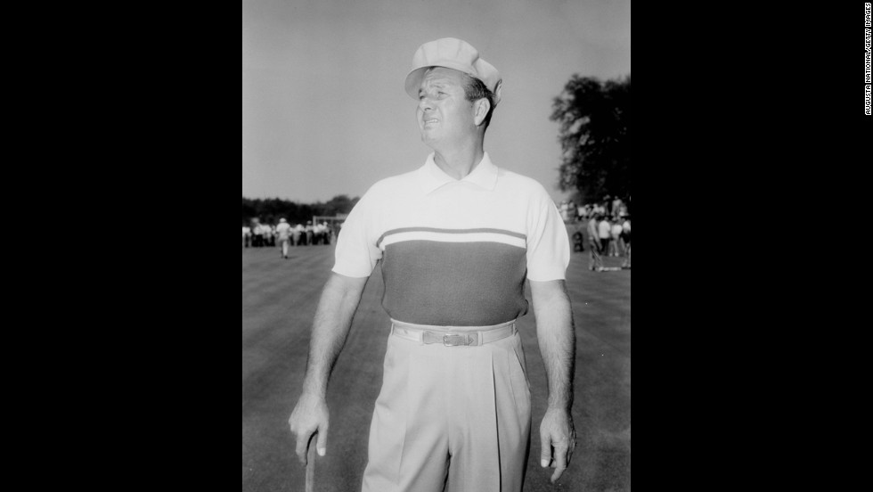 "Jimmy Demaret was known for subpar rounds that earned him three Masters titles, but his fashion sense was always above par. Fellow golfers referred to him as ""The Wardrobe"" because of his loud clothing choices, according to the World Golf Hall of Fame."