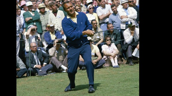 """Before his name came to mean a beverage of iced tea and lemonade, Arnold Palmer -- and his pompadour -- was still that cool. Palmer is credited with popularizing golf with the masses, and he had the blue-collar swagger to match. Esquire magazine even named him one of the """"75 Best Dressed Men of All Time."""""""