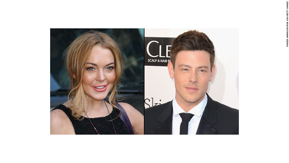 "It's only fair that we throw one guy in the mix. ""Glee's"" Cory Monteith, older or younger?"