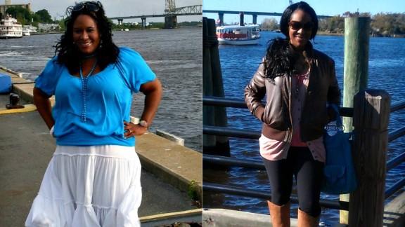 """LaVerne Hart gave her daughter two pieces of advice before succumbing to the cancer that had spread throughout her body. """"Save money. Lose weight."""" Cherie Hart Steffen says her mother's words are forever etched into her brain. Since then, she's lost 85 pounds."""