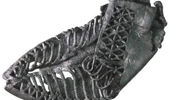 Roman leather carbatina (a shoe.)