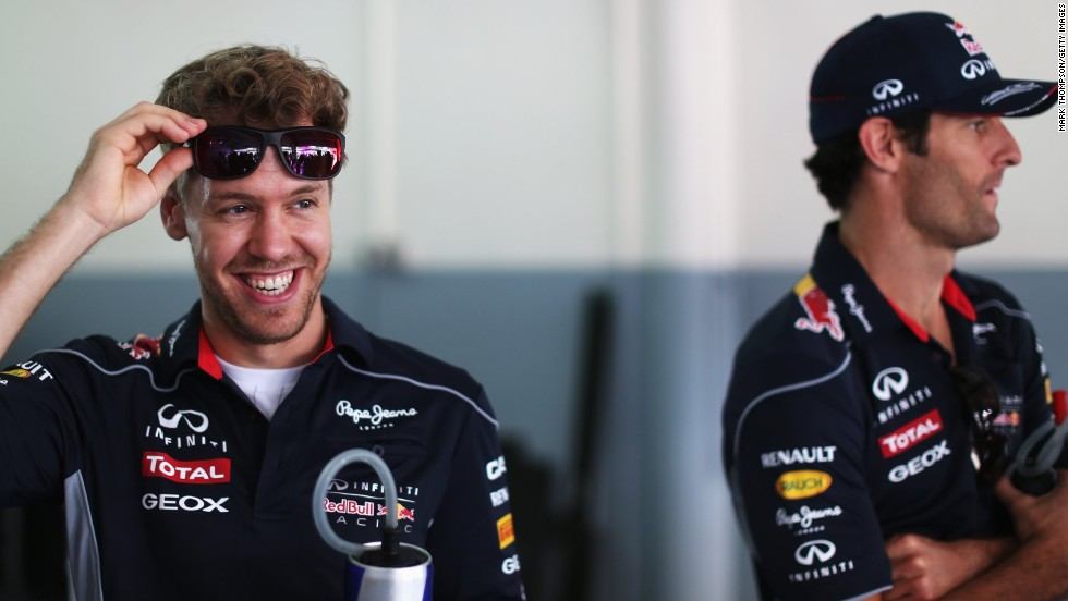 "But Webber's tenure at Red Bull Racing might be best remembered for his tumultuous relationship with teammate Sebastian Vettel. The German won four world titles with the team. ""At the time it was horrible to manage the whole scenario,"" Webber looked back."