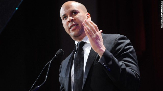 NEW YORK, NY - FEBRUARY 02: Cory Booker attends The 2013 Greater New York Human Rights Campaign Gala at The Waldorf=Astoria on February 2, 2013 in New York City. (Photo by Brad Barket/Getty Images)