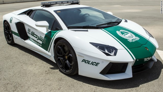 Dubai is not the first police fleet to use Lamborghini vehicles. The Italian sports cars are also used by forces in Qatar, Italy, Panama and the UK.