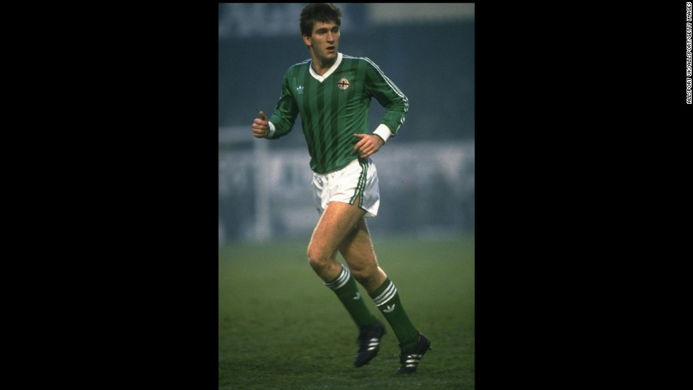 In 1982, Northern Ireland's Norman Whiteside became the youngest player to take the field in the World Cup when he played in his country's opener against Yugoslavia. He was 17 years and 41 days old. On top of 38 appearances for his country, he also had an impressive club career with Everton and at Manchester United, where he still holds the record for youngest goal scorer.