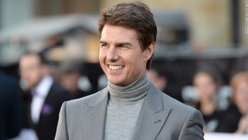 Tom Cruise -- aka the man still trying to live down the infamy of calling