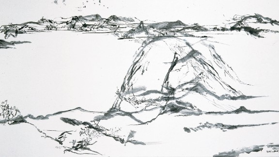 2005. Untitled. India ink on paper.