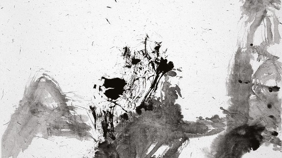 2006. Untitled (Guilin). India ink on paper.