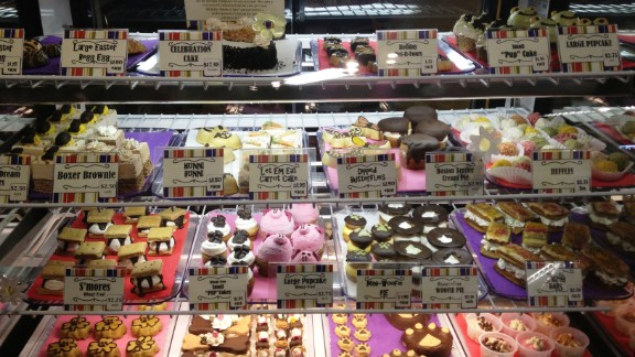 Dog bakeries such as Three Dog Bakery in Southlake, Texas, are popping up all over the United States.