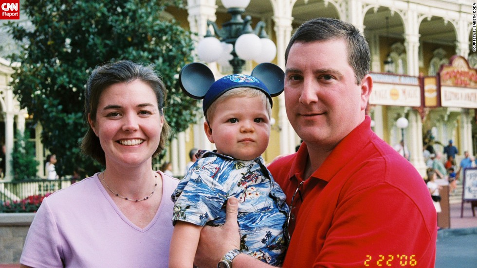 "Lifelong Disney fan Elizabeth Doda of Meredith, New Hampshire, had high expectations for her 14-month-old son's <a href=""http://ireport.cnn.com/docs/DOC-955005"">first mouse ears photo</a> in February. She wanted ""the perfect Disney picture of Joey in his Mickey ears with the castle perfectly centered in the background. Well, we got the picture, but Joey wanted to play with the Mickey ears, not wear them."" Even so, it made for a great memory."