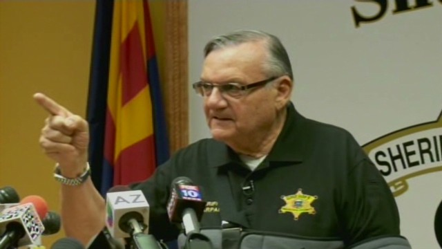 Joe Arpaio: I will not be intimidated