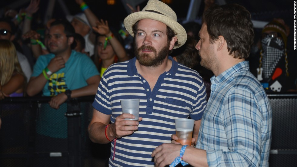 Actor Danny Masterson, left, attends Day One of the festival on April 12.
