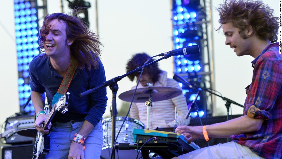 Tame Impala performs on April 14.