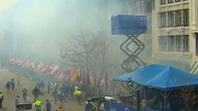 CNN producer: Heard big boom, saw smoke