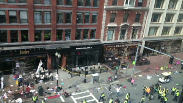 Witness: Bar went black, filled with smoke