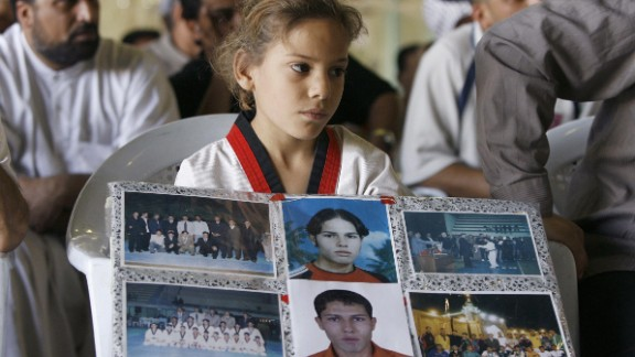 Between May and July 2006, Iraqi sportspeople were the target of a number of attacks. The 15 members of the Taekwondo team were kidnapped and never seen again, while a national tennis coach and two players were killed following an attack on a sports conference in Baghdad.
