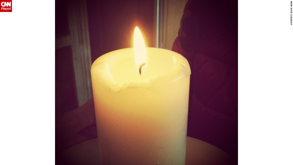"Support poured in from around the world. <a href=""http://ireport.cnn.com/docs/DOC-956591"">Elisa Gioia</a> lit a candle in northeastern Italy and prayed for the Boston runners."