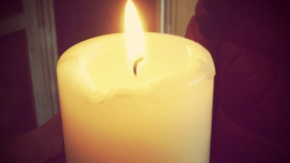 Support poured in from around the world. Elisa Gioia lit a candle in northeastern Italy and prayed for the Boston runners.