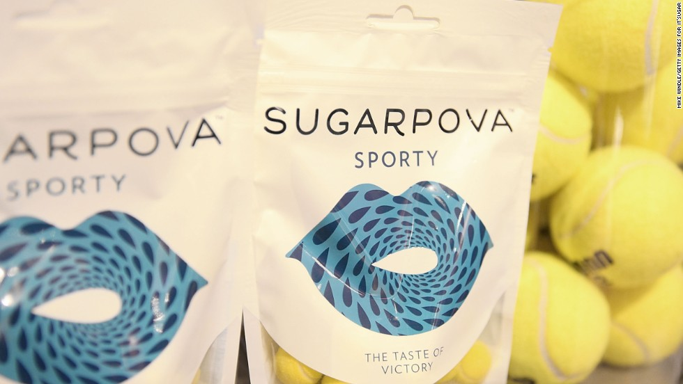 Sharapova launched her own premium candy line, Sugarpova, with individual bags selling for $5.99. She has plans to expand to more markets, including Asia.
