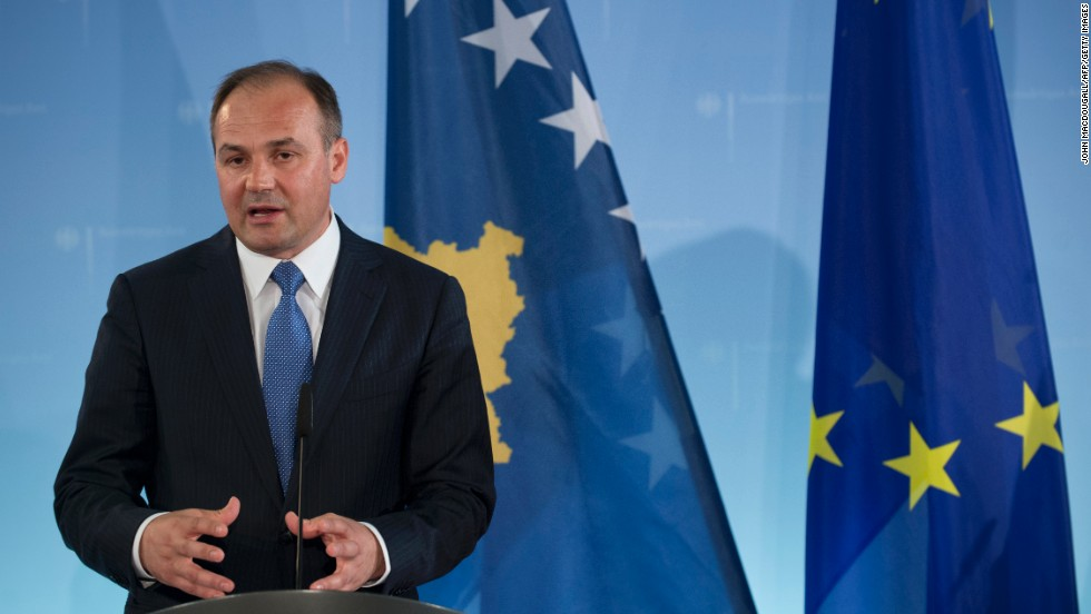 Kosovo's foreign minister, Enver Hoxhaj, expressed sympathy for the victims of the Boston explosions following talks with German Foreign Minister Guido Westerwelle in Berlin on Tuesday.