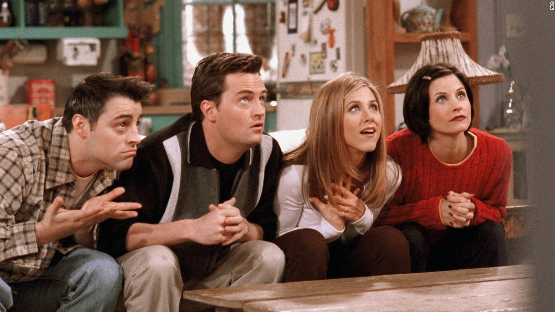 "A decade of watching Rachel and Ross make up and break up in between meeting the rest of their ""Friends"" at Central Perk still wasn't enough for fans. Unfortunately, there are <a href=""http://marquee.blogs.cnn.com/2012/02/23/jennifer-aniston-on-friends-reunion-i-dont-think-so/?iref=allsearch"" target=""_blank"">zero plans for a reunion</a> <a href=""http://www.cnn.com/2013/07/23/showbiz/lisa-kudrow-qa/index.html?iref=allsearch"" target=""_blank"">or a movie.</a>"