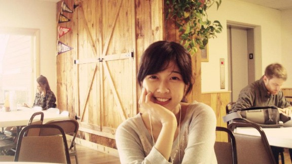 Lingzi Lu, pictured in this photo from Facebook, was a graduate student at Boston University.