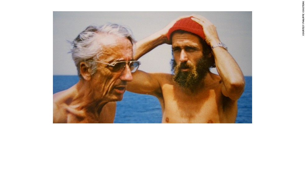 Jacques and Philippe Cousteau, Sr.