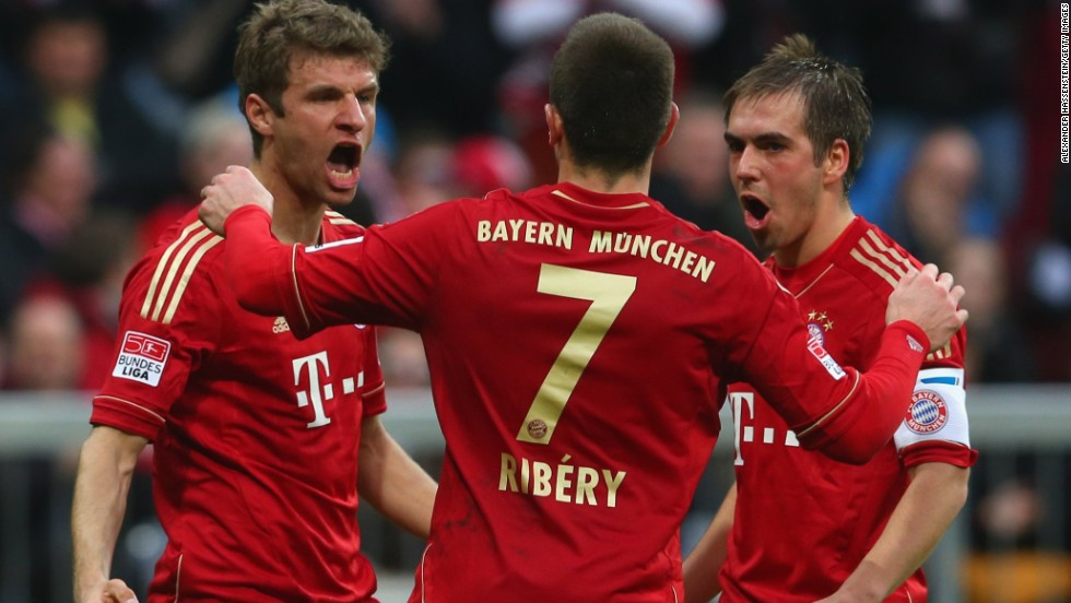 German champions Bayern Munich, who are still on course for an historic treble, are fifth on the list with a value of $1.3 billion. Former Barcelona coach Pep Guardiola is joining the club at the end of the current season.